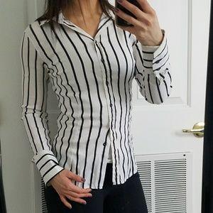 Zara Striped Buttondown